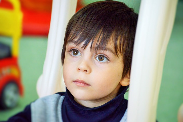 Autistic child benefits from applied behavioral analysis